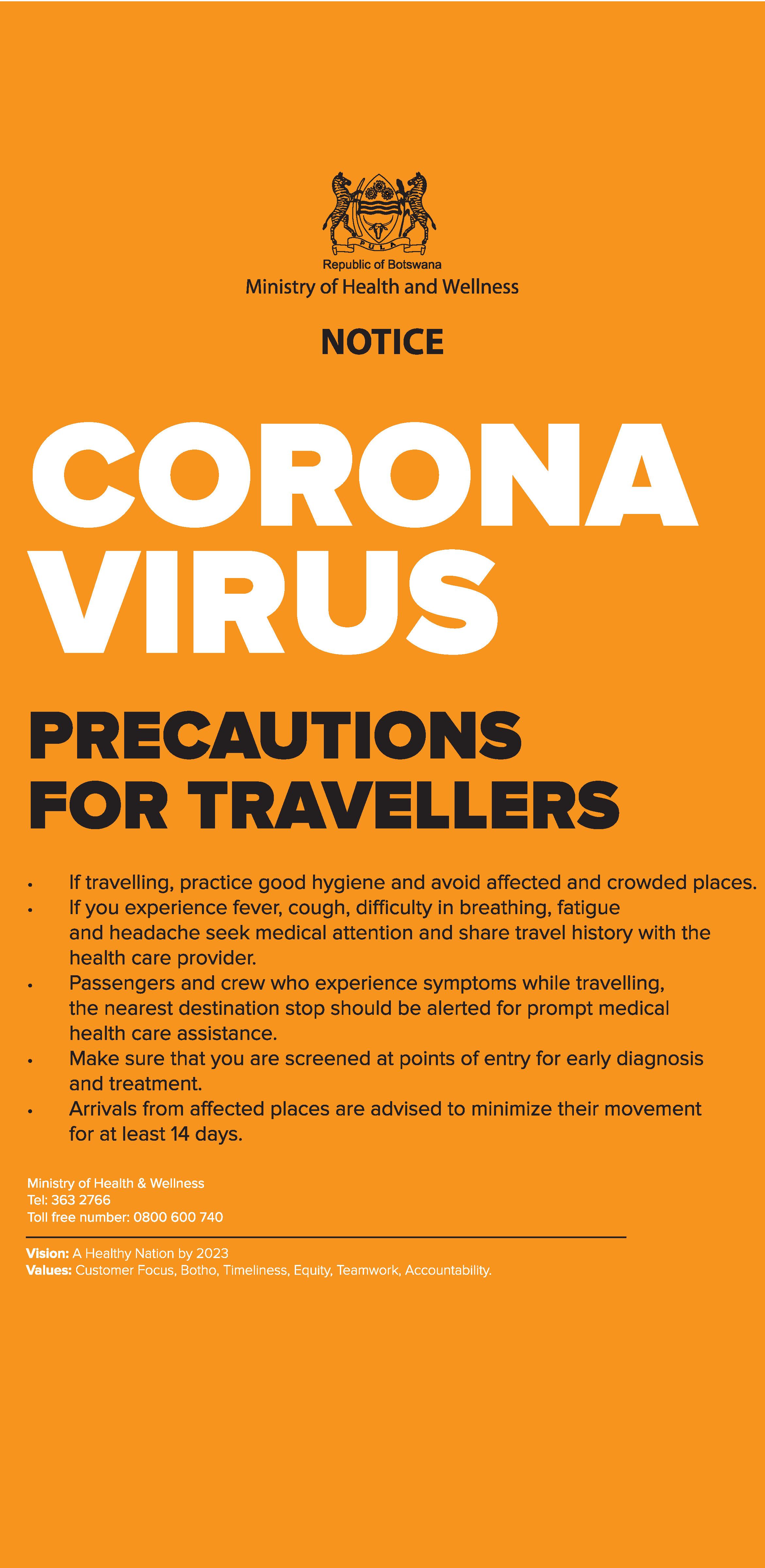 PREVENT CORONA VIRUS info