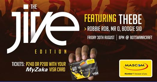 Mascom Live Sessions - The Jive