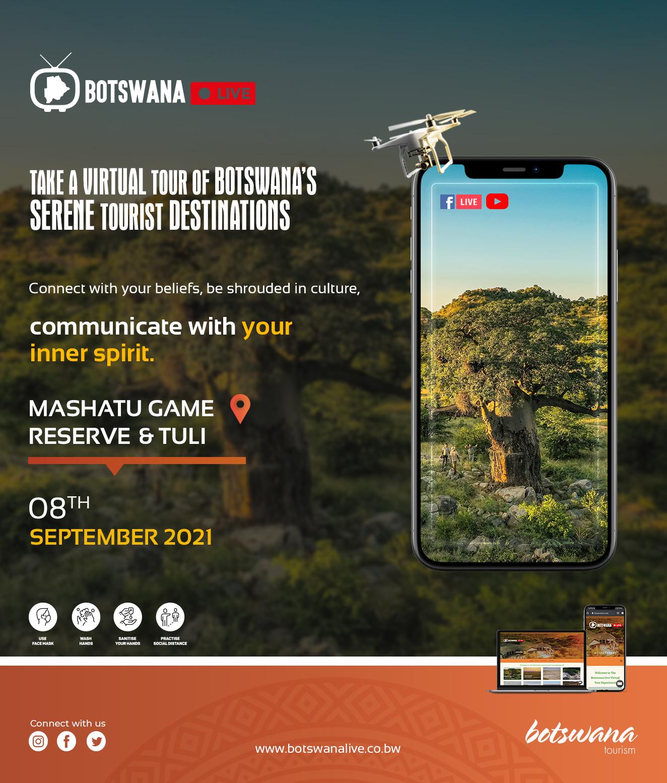 Botswana Live Tours Destination - Mashatu Game Reserve & Tuli Live Streaming Advert